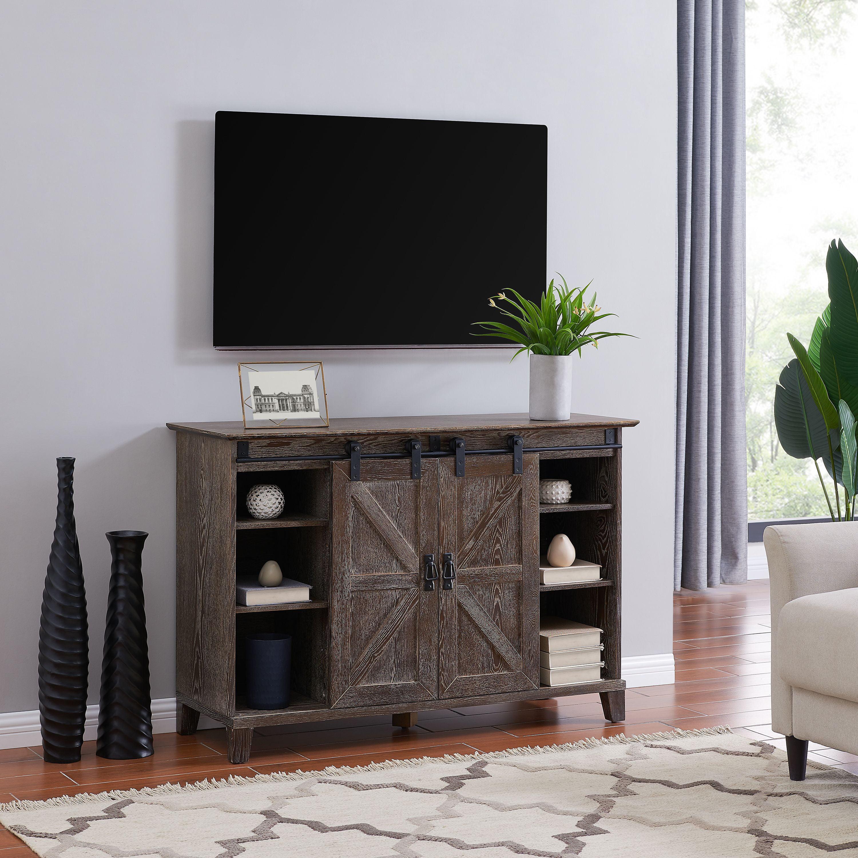 Hobrah Barn Door TV Stand