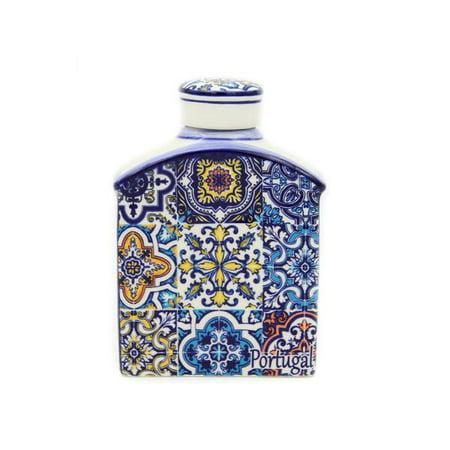 Portugal Ceramic - Hand-painted Decorative Traditional Portuguese Ceramic Flask