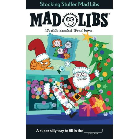 Stocking Stuffer Mad Libs - Stocking Stuffers Men