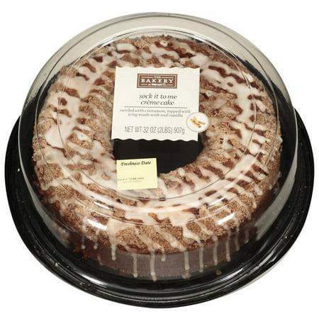 Bakery Creme Cake Publix