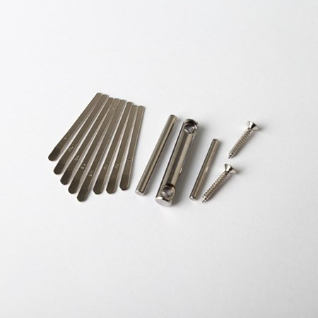 Thumb Piano DIY Kit Kalimba Bridge Saddle 8 Key Set Replacement Spare Parts - image 7 of 8