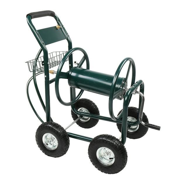 Veryke Heavy Duty Garden Hose Reel Cart, Heavy Duty Garden Hose Reel