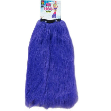 Furry Leg Warmers, Purple - Cheap Furry Leg Warmers