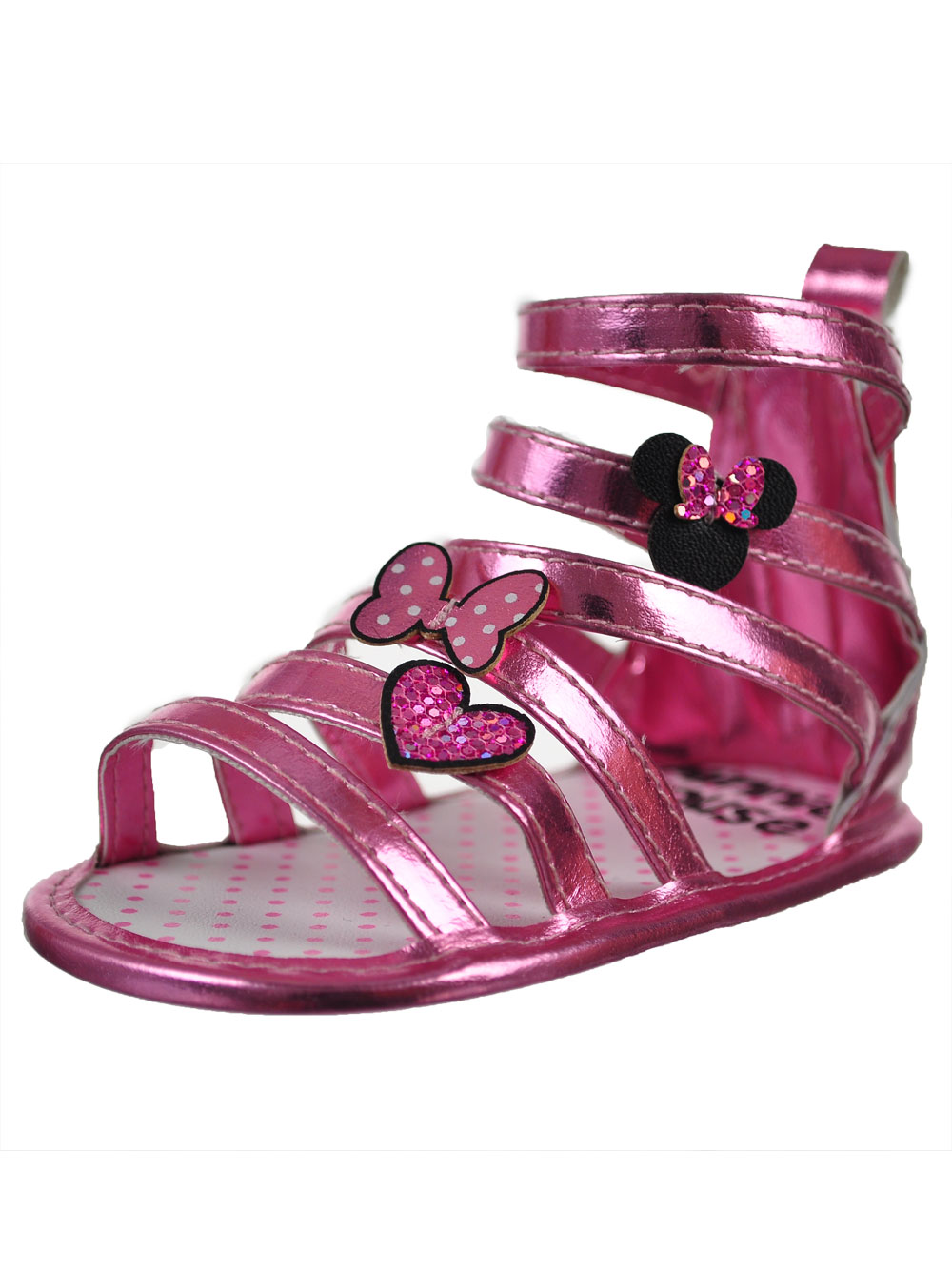 Disney Minnie Mouse Baby Girls' Sandal Booties