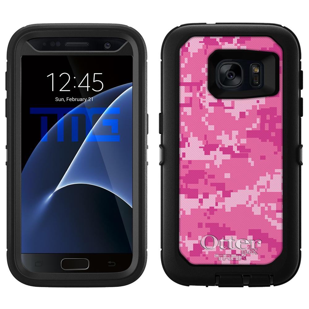 OtterBox Defender Samsung Galaxy S7 Case - Digital Camo P...