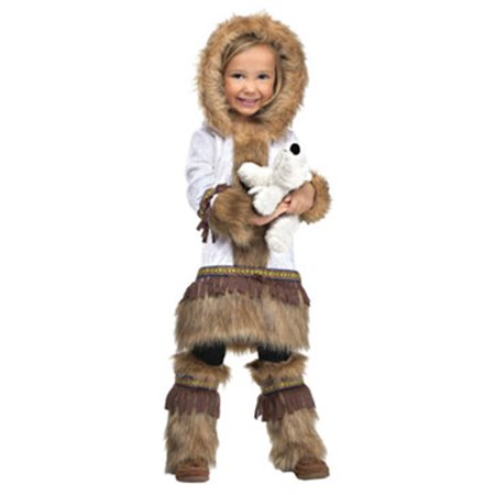 Toddler Eskimo Costume by FunWorld 122671