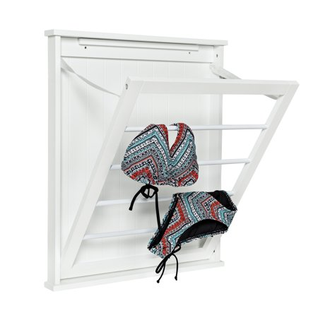 Honey Can Do Small Wall-Mounted Drying Rack, White ()
