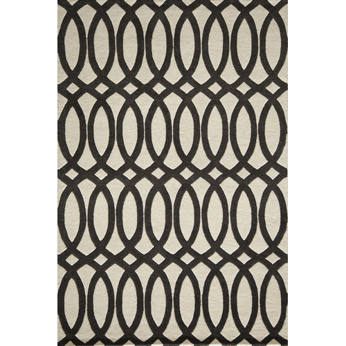 Momeni Delhi Black Tufted Rug