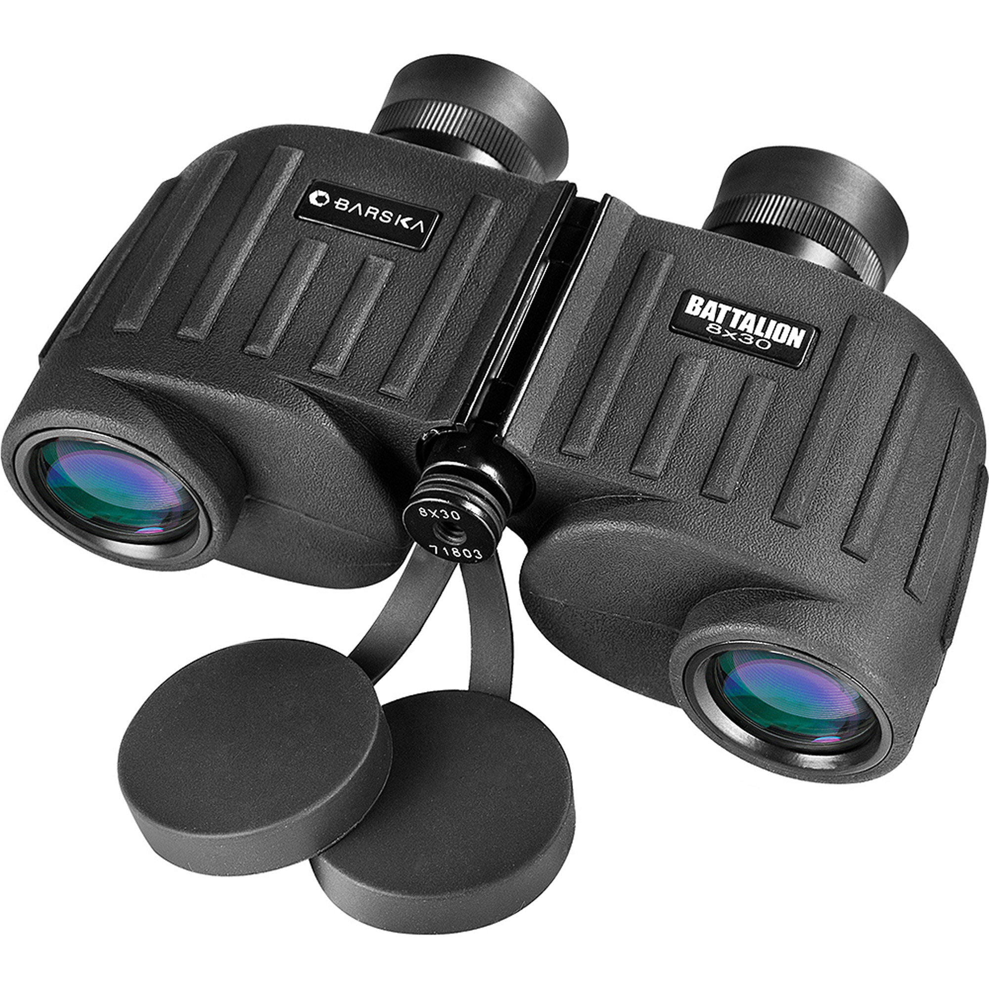 Barska Optics Battalion Binoculars, 8x30mm, Black
