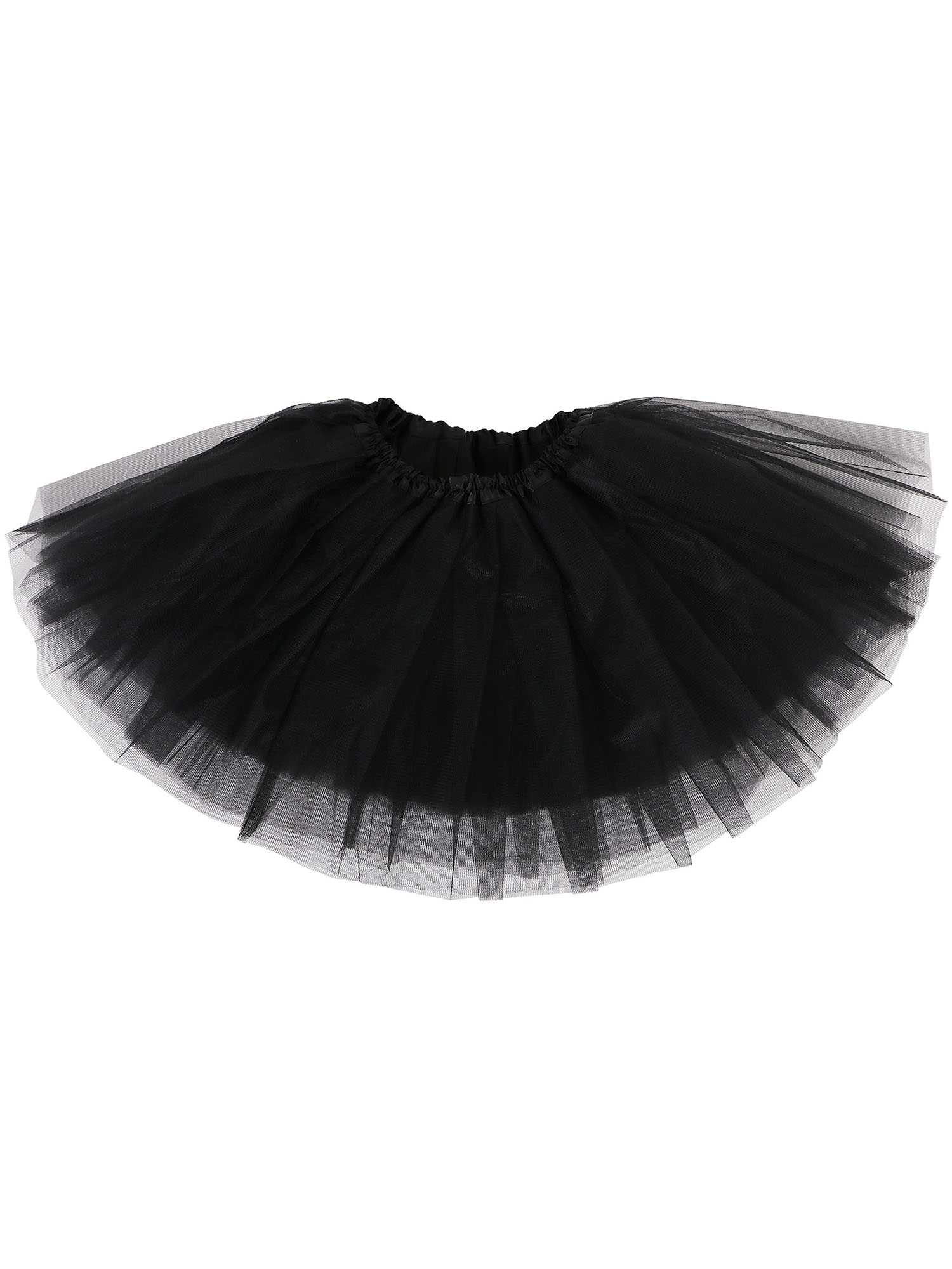 Baby Cute Tulle Tutu Skirt for Dress Up & Fairy Costumes, Black
