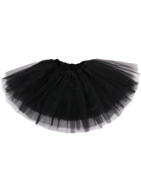 6825ac8df5 Product Image Baby Cute Tulle Tutu Skirt for Dress Up & Fairy Costumes,  Black