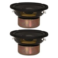 "2 Goldwood Sound GW-406D Shielded Dual Voice Coil 6.5"" Woofers 90 Watt each 8ohm Replacement Speakers"
