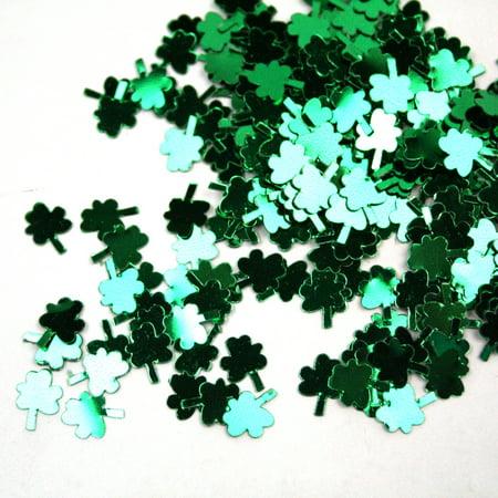 1 Oz Fanci-Fetti Shamrocks Green Confetti St Patricks Day Party Decor