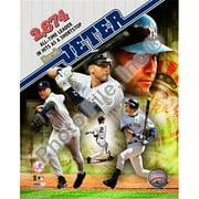 Liebermans PFSAALO09901 Derek Jeter Most Career Hits by a Shortstop Composite - Poster 8x10