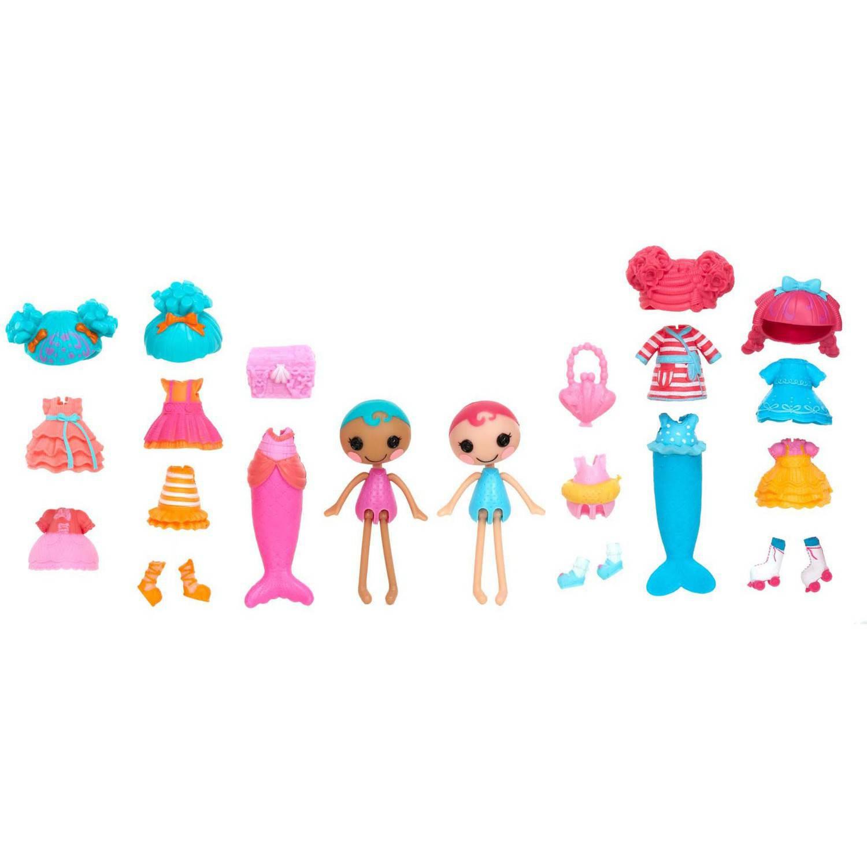 Lalaloopsy Minis Style 'N' Swap Multipack Doll, Mermaid