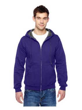 Fruit of the Loom Fleece Sofspun Hooded Full-Zip Sweatshirt