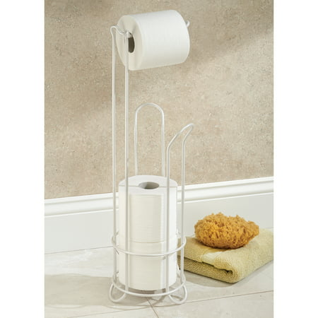 Interdesign Clico Toilet Paper Roll Stand With Holder