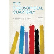 The Theosophical Quarterly Volume 15