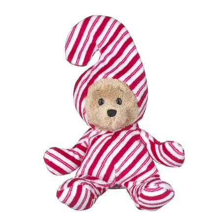 Wee Bears Costumed Teddy Bear: Candy Cane - By Ganz](Peewee Herman Costume)
