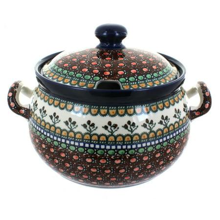 Polish Pottery Soup Tureen (Polish Pottery Golden Pastures Soup)