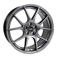 Enkei YS5 17x7.5 5x114.3 40mm Hyper Black Wheel - 494-775-6540HB