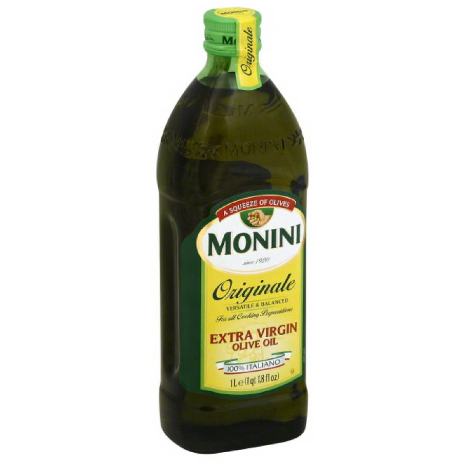 Monini Originale Extra Virgin Olive Oil, 1 l, (Pack of 12)