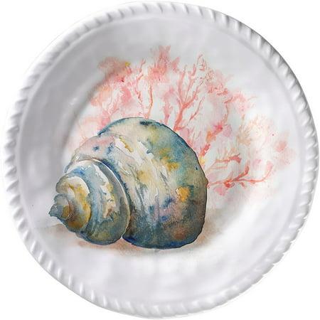 Merritt International Coral Shell 8in plate - Conch - image 1 de 1