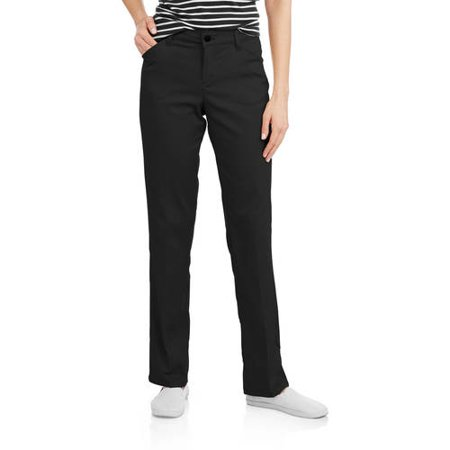 Genuine Dickies Women's Relaxed Straight Twill Pants - Walmart.com