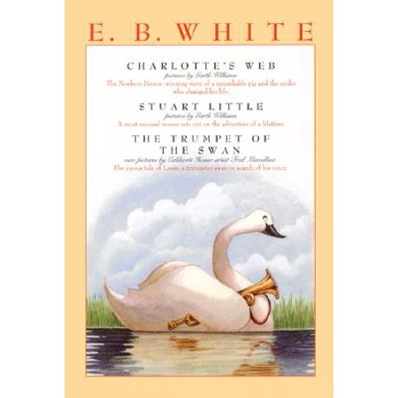 E. B. White Box Set : Charlotte's Web, Stuart Little, the Trumpet of the - Black Swan White Swan Halloween