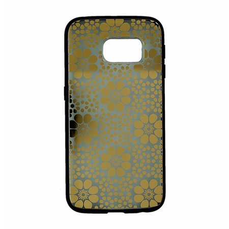 Refurbished- Sonix Clear Coat Case for Samsung Galaxy S6 Edge Crochet Floral