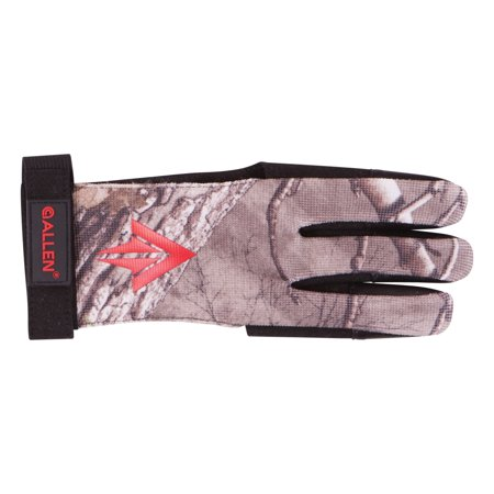 Ambidextrous Traditional Archery Glove Large, Realtree Xtra by Allen (Best Archery Shooting Glove)