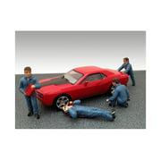 Mechanics 4 Figure Set For 1:43 Diecast Model Cars by American Diorama