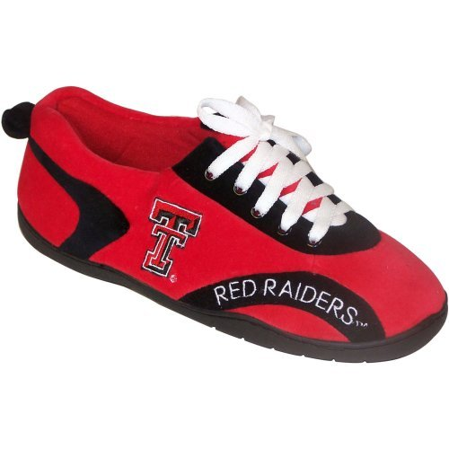 Comfy Feet NCAA All Around Youth Slippers - Texas Tech Red Raiders