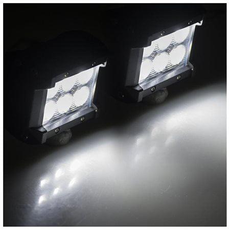 18W Cree LED Work Light Bar Spot Truck Driving Lamp For Forklifts Excavators Trucks