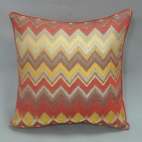 bianca 2-piece chenille chevron throw pillow set