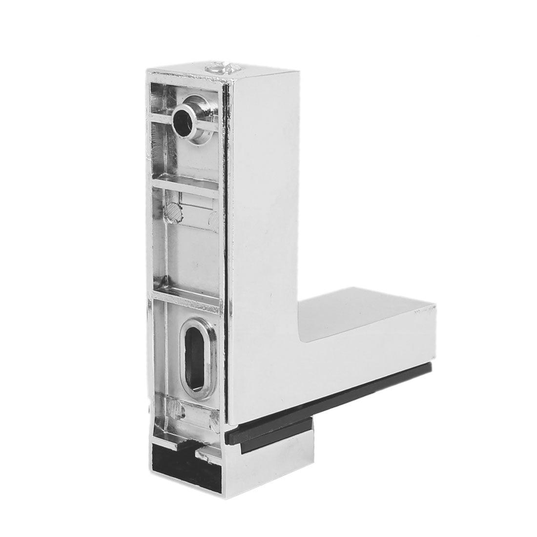 Wall Cabinet Metal Adjustable Glass Clip Shelf Clamp Support Bracket Holder - image 2 of 6