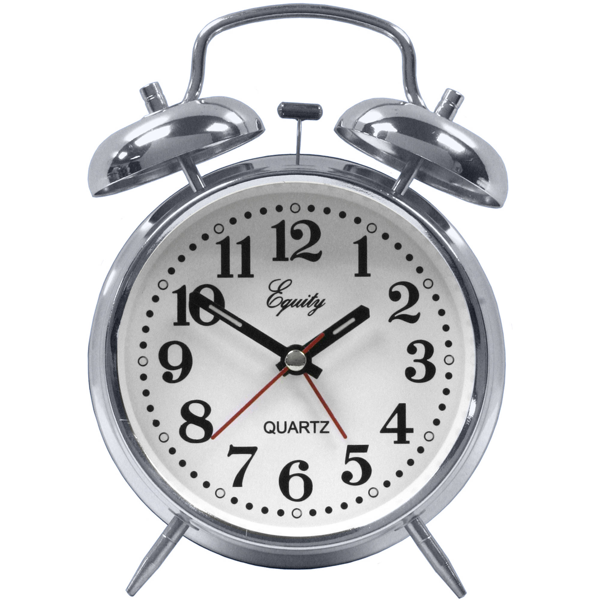 La Crosse Technology Equity Analog Twin Bell Alarm Clock