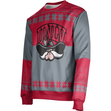 Men's University of Nevada Las Vegas Ugly Holiday Jingle Sweater (Apparel)