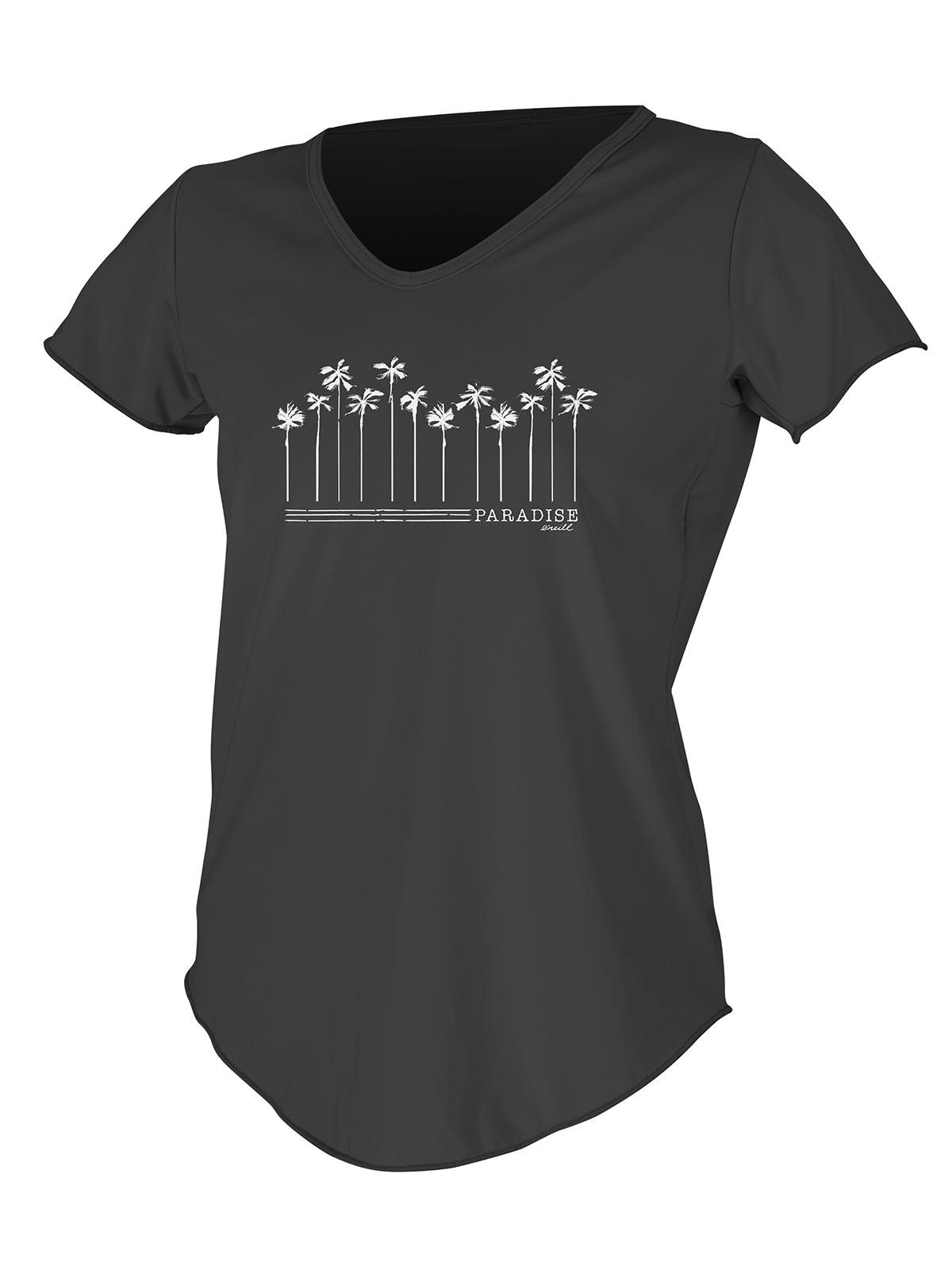 ONeill Womens Shortsleeve Graphic Scoop Neck Sun Shirt