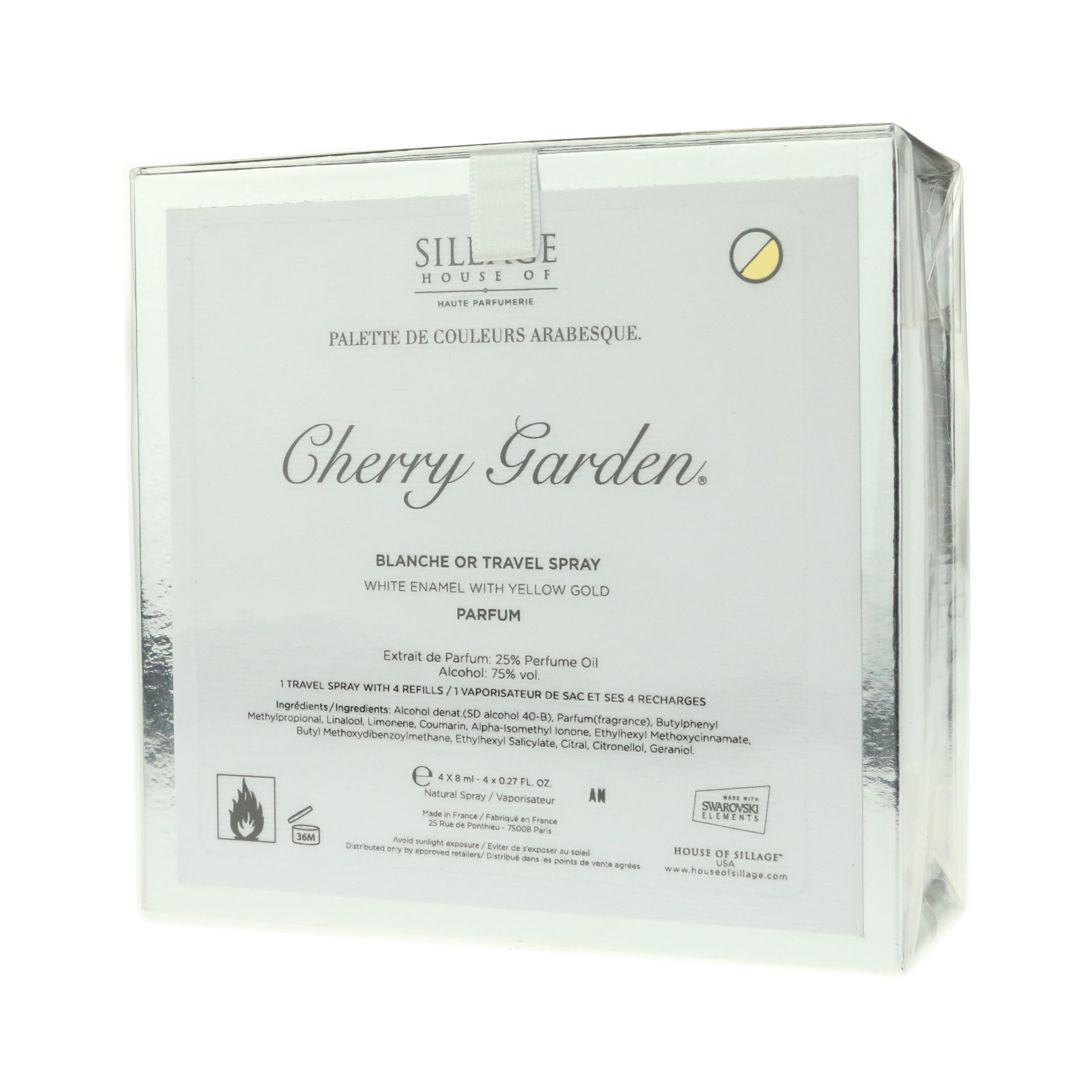 House Of Sillage 'Cherry Garden' Parfum Blanche Or Travel...