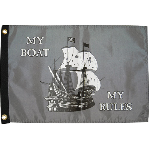 Taylor Made Flag, My Boat My Rules 1613
