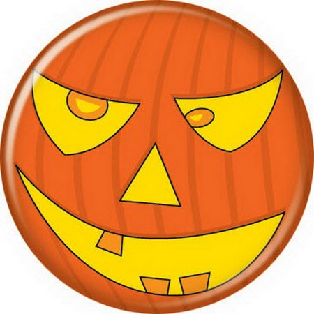 Halloween Pumpkin Button 82090 - Button Mash Halloween