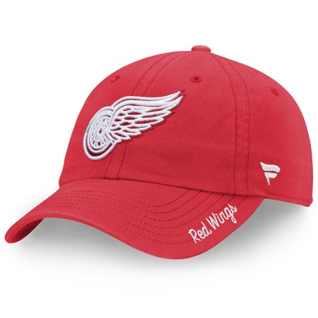 Detroit Red Wings Fanatics Branded Women's Fundamental Adjustable Hat - Red - OSFA Detroit Red Wings Ipod Skin