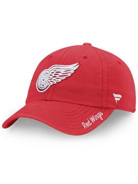 Detroit Red Wings Fanatics Branded Women's Fundamental Adjustable Hat - Red - OSFA