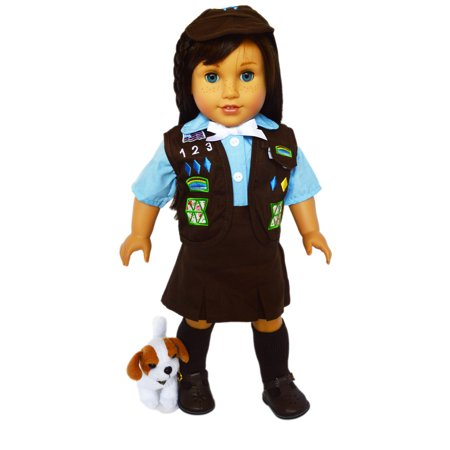 My Brittany's Brownie Outfit for American Girl Dolls and My Life as Dolls