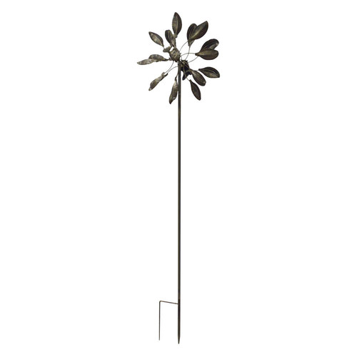 Zingz and Thingz Dancing Leaves Windmill in Bronze by Zingz & Thingz