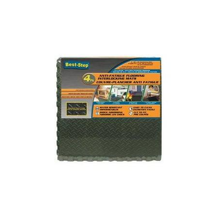 Best Step Anti Fatigue Interlocking Foam Tile Mats Black (8 (Best Step Anti Fatigue Flooring)