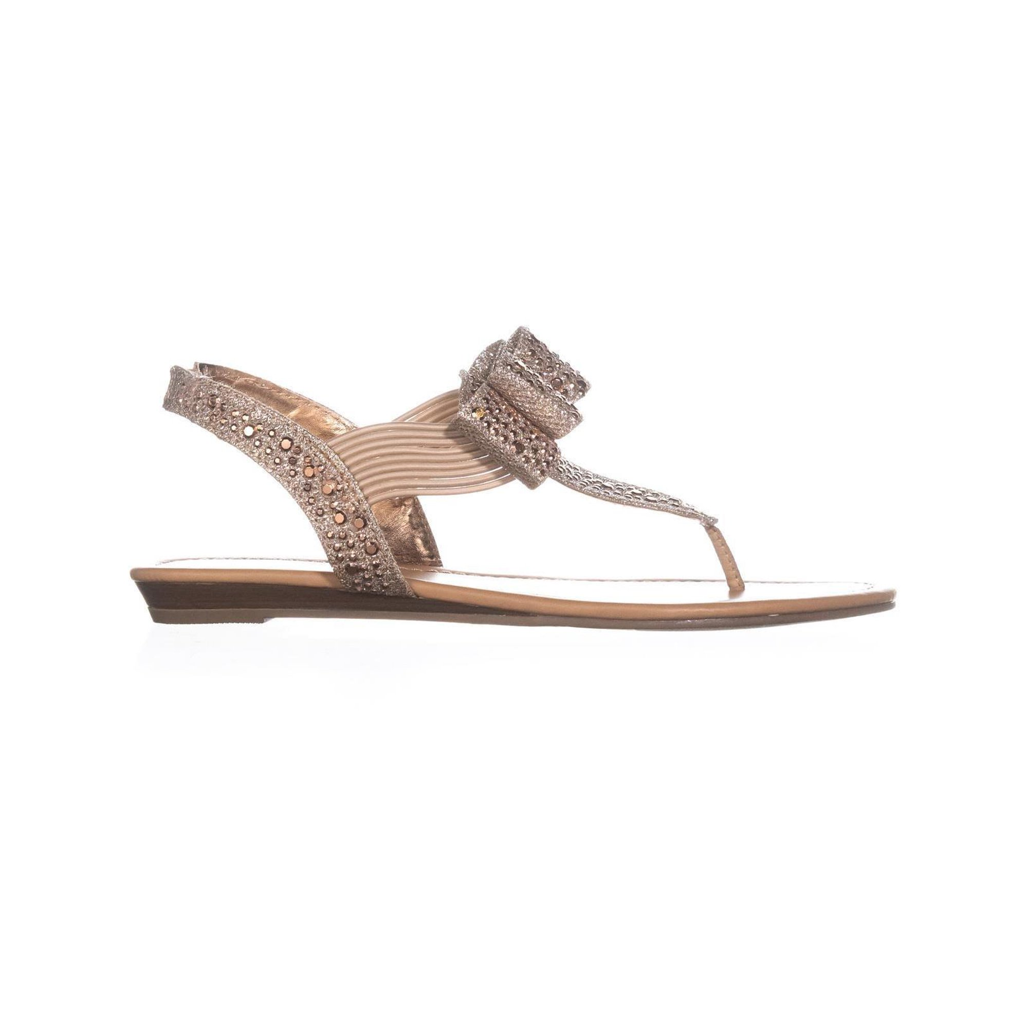 47ee8a14a9e Material Girl Womens Shayleen Open Toe Casual Slingback