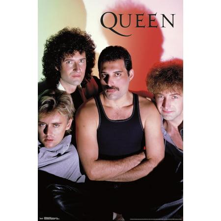 Silkscreen Concert Poster - Queen - In Concert Poster