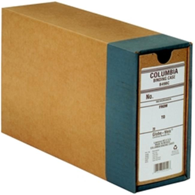 GLOBE-WEIS GLWB49BC Columbia Binding Cases, Note Size, Regular Arch, 12 PER Carton